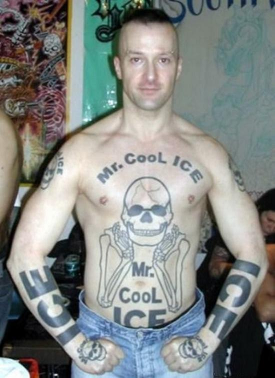 terrible tattoos mr cool ice More Of The Worlds Most Terrible Tattoos