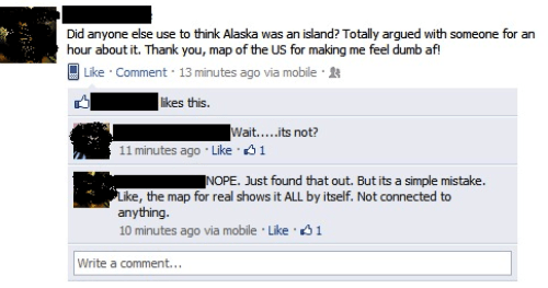 dumbest facebook posts alaska island The Dumbest Facebook Posts Of All Time