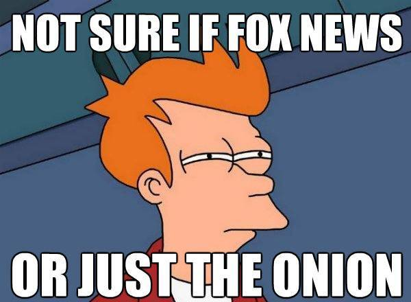 futarama fry fox news onion The Best Futurama Fry Memes Ever