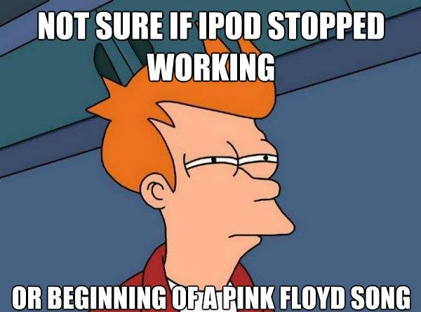 futarama fry pink floyd The Best Futurama Fry Memes, Part II