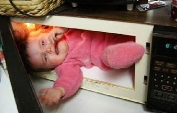 parenting fail baby microwave The Worlds Worst Parents, Part II