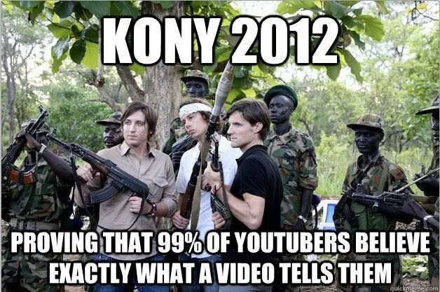 stop invisible children kony20 The Most Outrageous Kony Memes