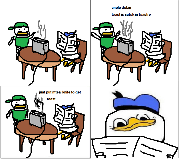 dolan comic meme toaster The Internets Weirdest New Meme: The Dolan Comic Meme
