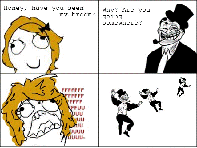 funnest troll dad rage comics witch The Funniest Troll Dad Rage Comics