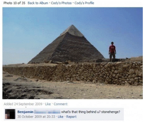 greatest facebook statuses stonehenge or pyramid The Greatest Facebook Statuses Ever
