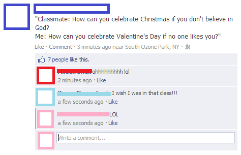 funniest facebook posts 2012 valentines day The Funniest Facebook Posts Of 2012