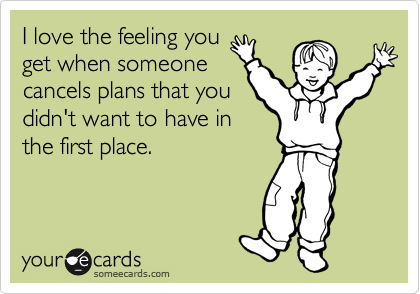 funniest someecards 2012 cancel plans The Funniest SomeEcards Of 2012