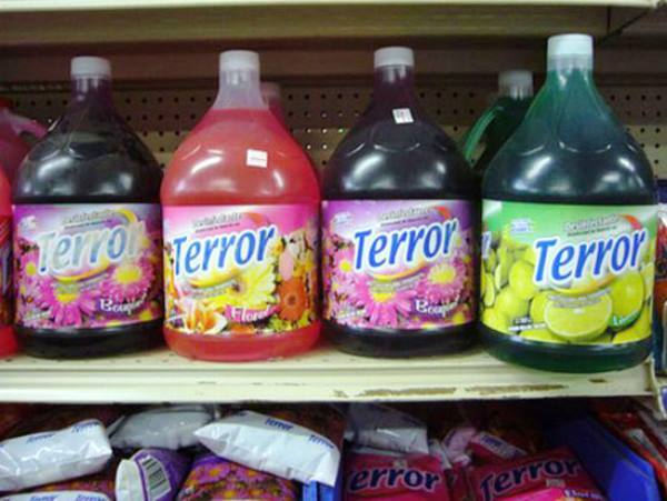 worst food names terror 20 Terribly Named Food Products
