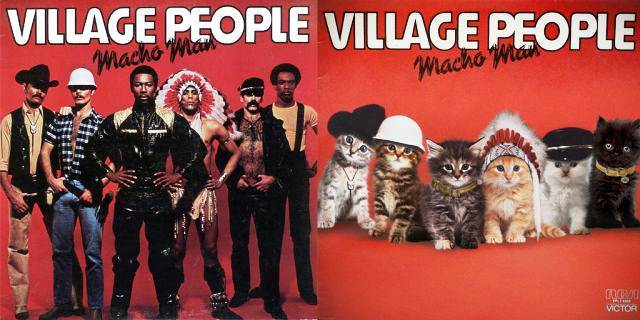 Kitten Inspired Album Art 29 The Bizarrely Awesome Kitten Covers