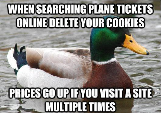 actual advice mallard plane tickets The Genius Of Actual Advice Mallard
