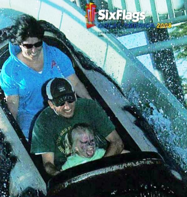 The Funniest Roller Coaster Pictures Of All Time