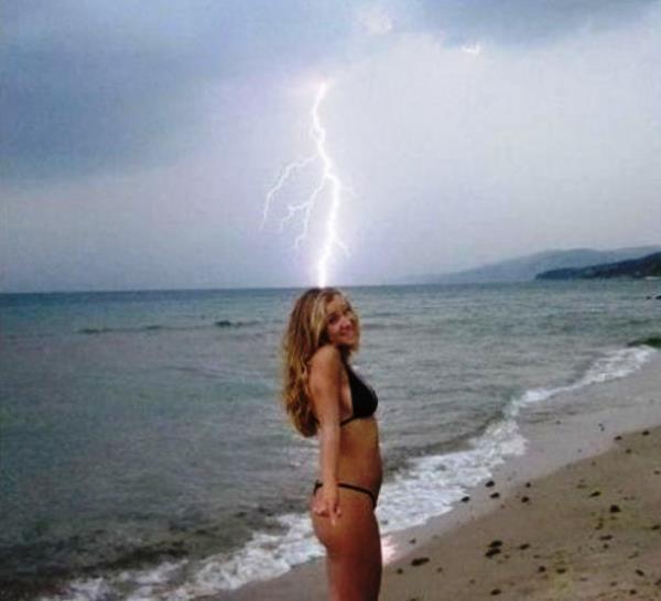 Perfect Angle Lightning