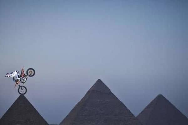 Pyramids Funny Angle
